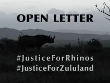 Open Letter: #JusticeForRhinos #JusticeForZululand