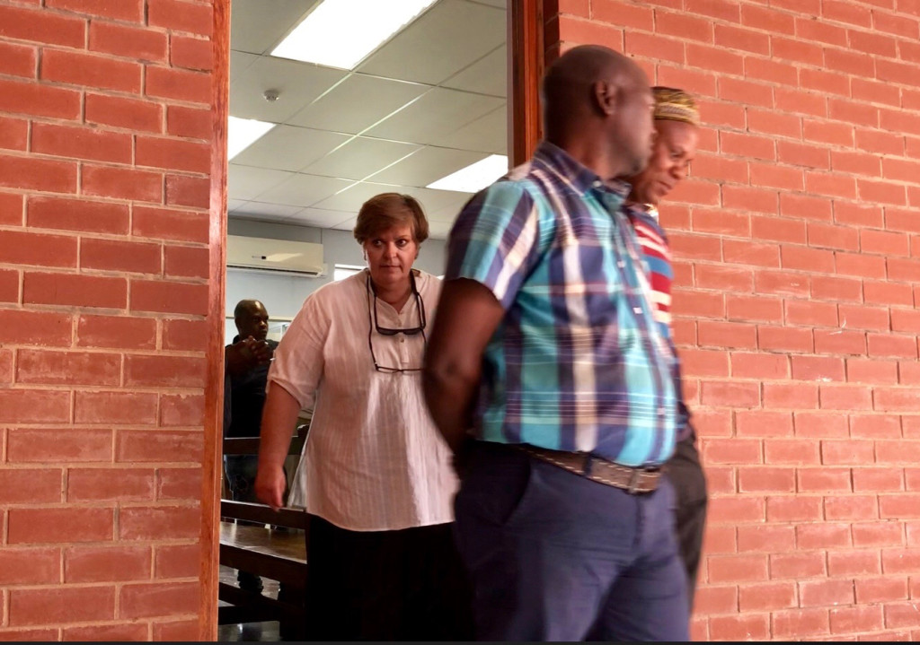marianna-nicholson-walking-out-of-court-behind-dumisani-gwala-partly-hidden-and-wiseman-mageba-accused-1-photo-credit-saving-the-wild