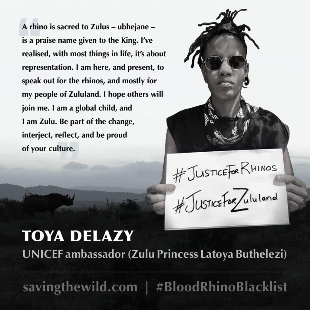 Zulu Princess 'Toya Delazy'