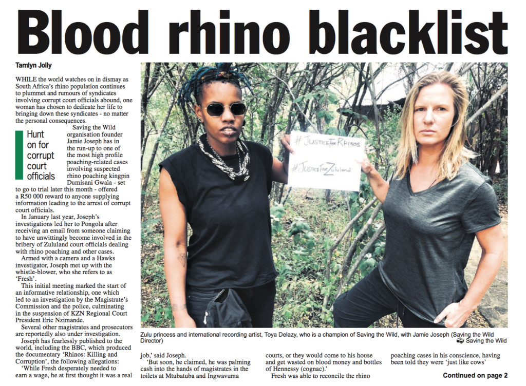 front-page-zo-blood-rhino-blacklist-8-april-2019