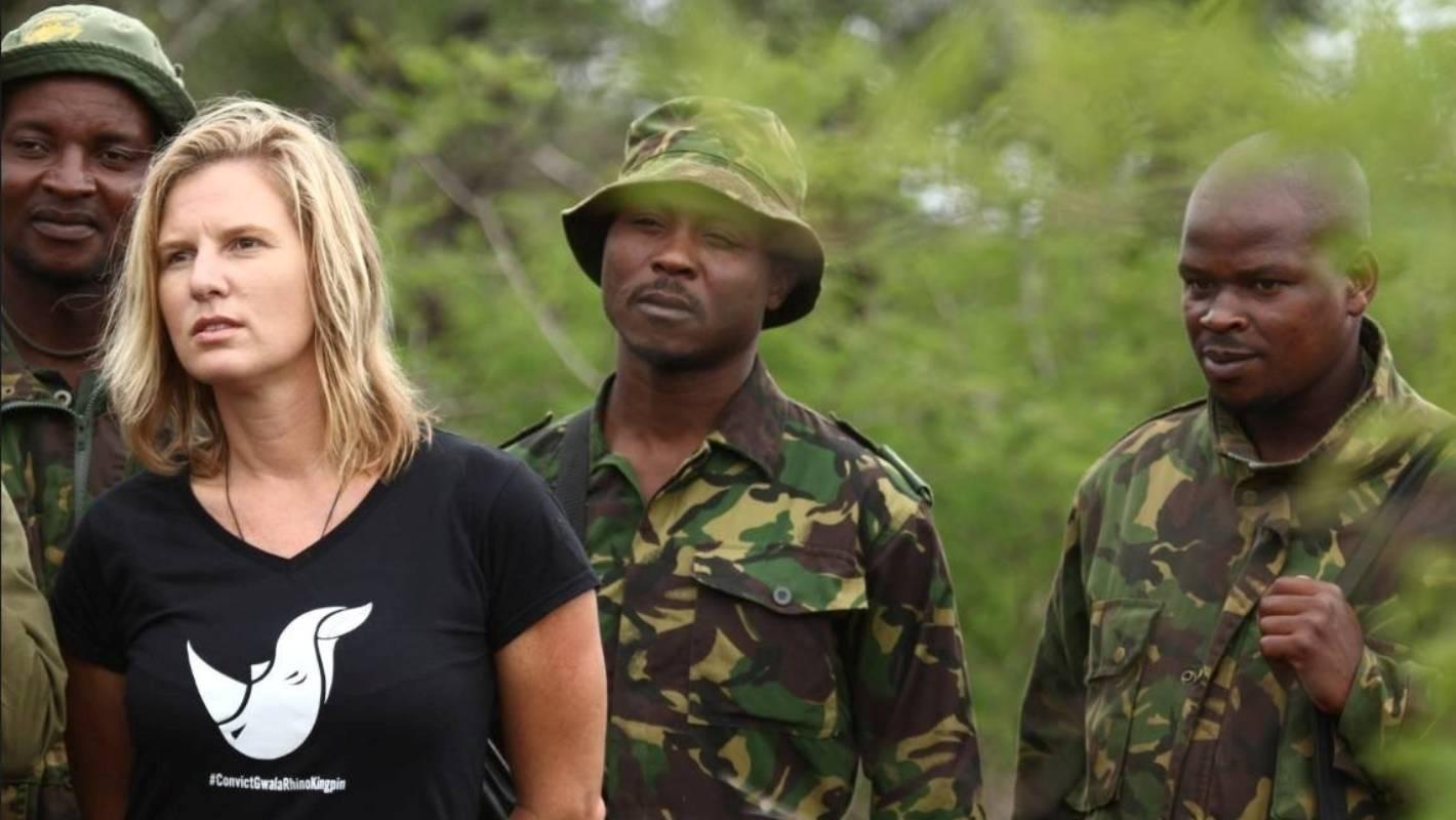 Jamie Joseph with Phinda anti poaching rangers